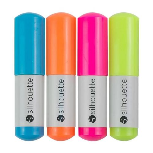 Silhouette Sketch Pens - Neon Pack x4